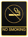 Picture of Brass ADA Plaque - No Smoking