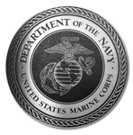 Picture of Aluminum Military Plaques - Marines